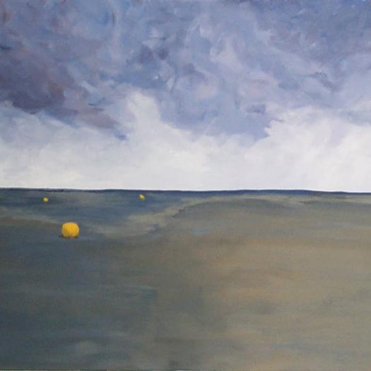 Low Tide at the Fjords by Patrick van den Broek